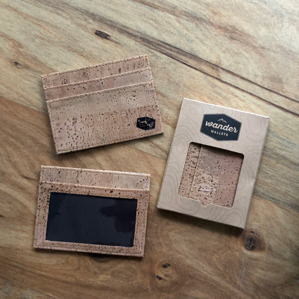 Light Cork Cardholder
