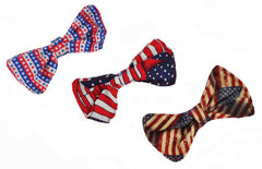 Patriotic Bow Wow Bow Tie