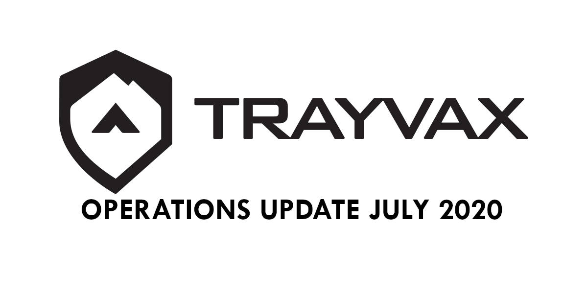 Operations Update: July 2020