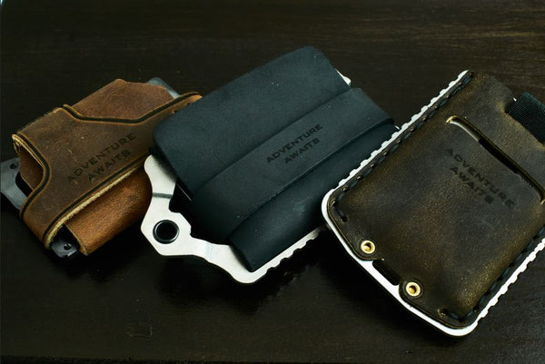 Trayvax Engraving and Personalization of Minimalist Wallets