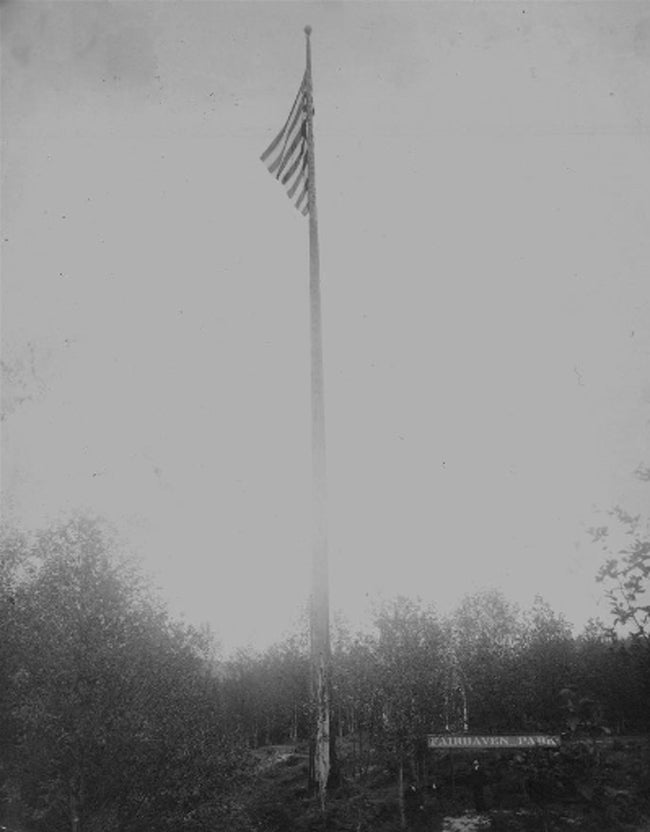 Fairhaven Park Flag Pole