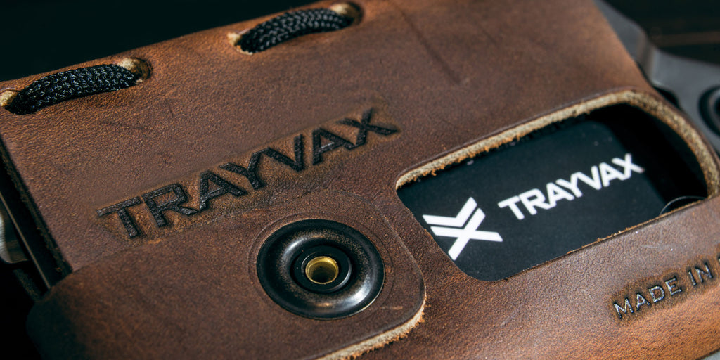 Trayvax Leather Detail