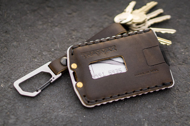 ascent credit card holder with keys