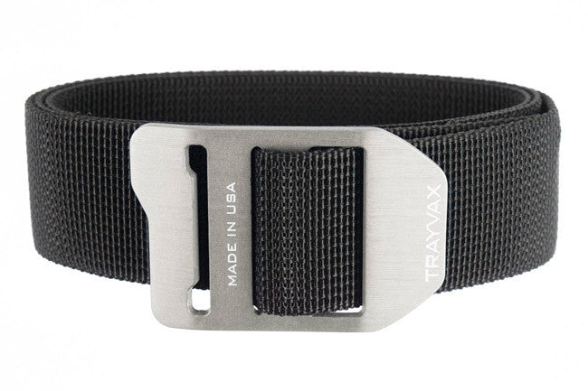 Trayvax Cinch Belt in Silver