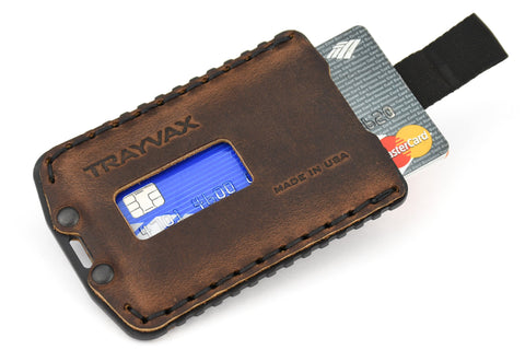 ascent leather wallet