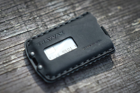 ascent wallet leather