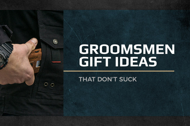 Trayvax: groomsmen gift guide ideas