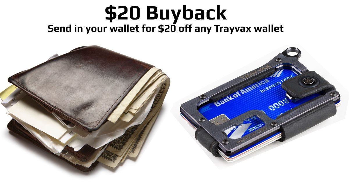 135123c71902 Trayvax®  Slim Metal Wallets with RFID Protection – Trayvax Enterprises