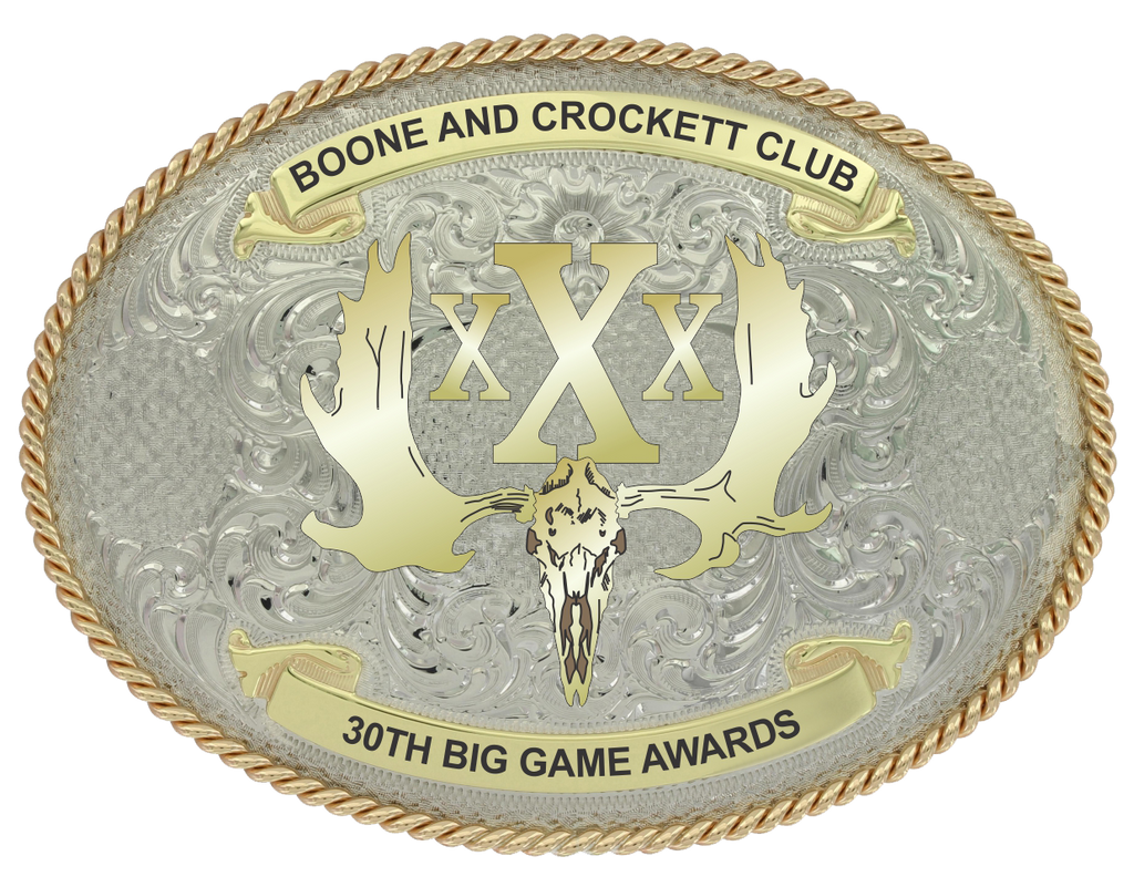 30th Awards Commemorative Belt Buckle
