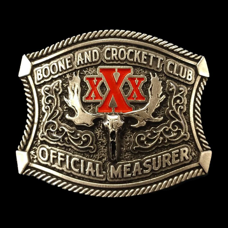 30th Awards Official Measurer Belt Buckle