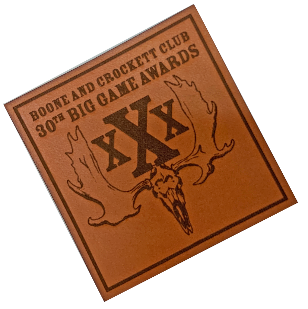 30th Awards Leather Patch