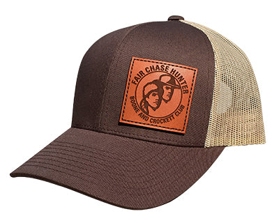 Brown Fair Chase Hunter Patch Hat