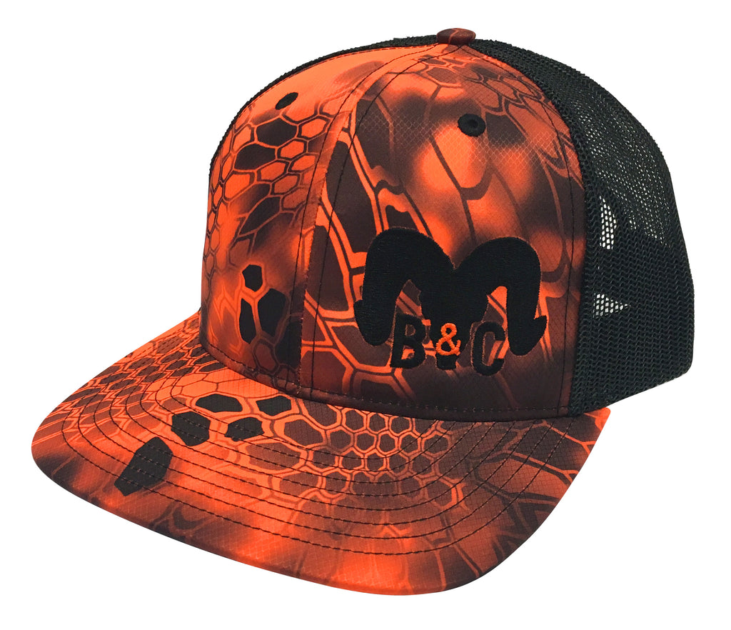 B&C Kryptek Inferno Camo Sheep Hat