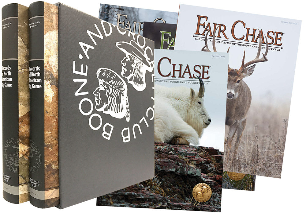 Records of North American Big Game 14th Edition - B&C Associate Package Deal