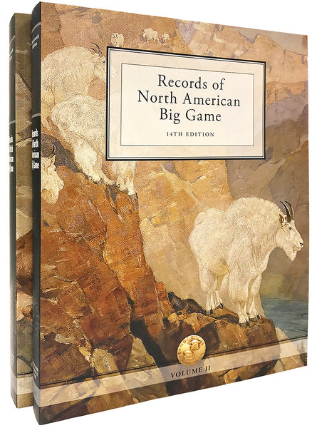 Records of North American Big Game - Paperback Set + Associate Sign Up