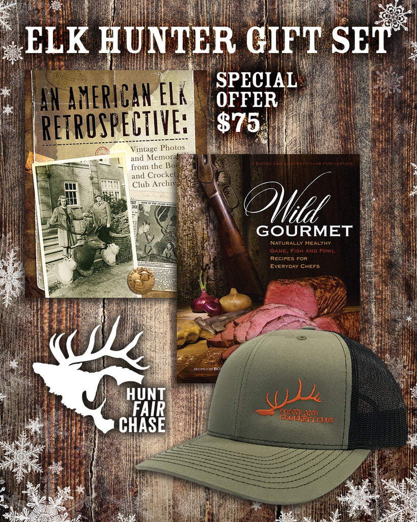 Elk Hunter Gift Set