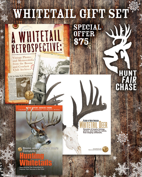 Whitetail Hunter Gift Set