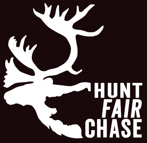 Hunt Fair Chase - Caribou/Bear Decal