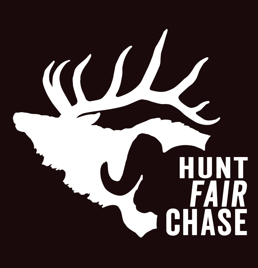 Hunt Fair Chase - Elk/Sheep Decal