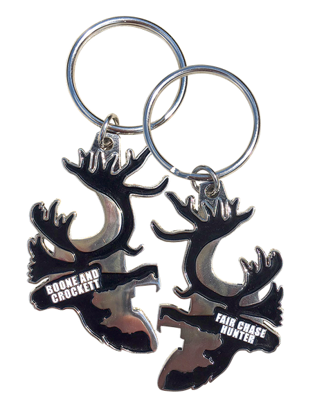 Hunt Fair Chase Keychain Bottle Opener
