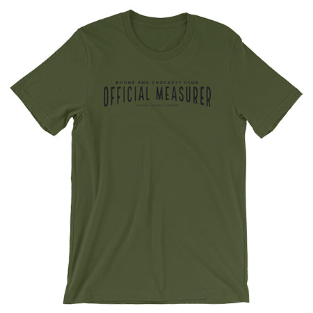 Official Measurer Trained Tested Certified T-Shirts