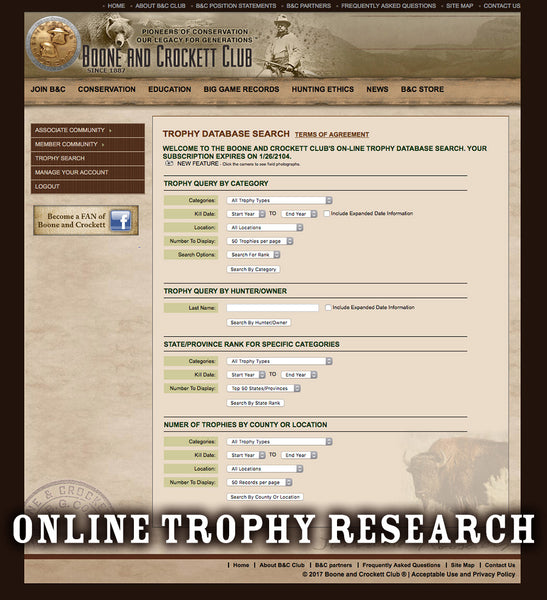 Trophy Search