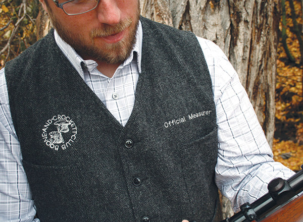 Official Measurer Wool Vest