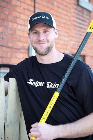 National Lacrosse League Pro Player Kiel Matisz and Sniper Skin