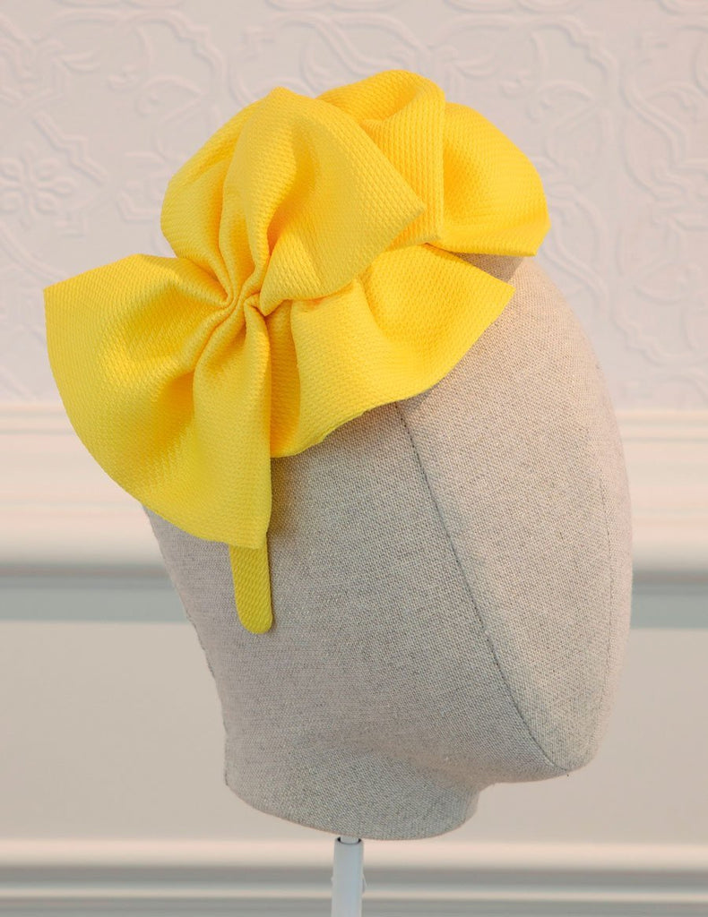 ABEL & LULA 5459 YELLOW HEADBAND - Cherubs