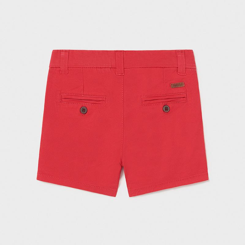 COMING SOON PRE-ORDER MAYORAL 207 RED CHINO SHORTS - Cherubs