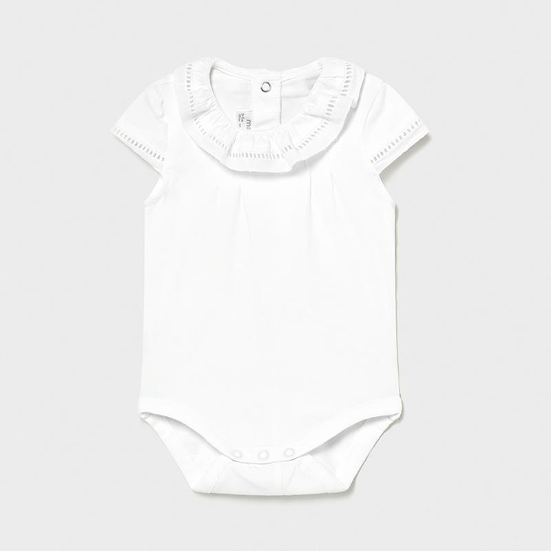 MAYORAL 1792 WHITE BODYSUIT - Cherubs