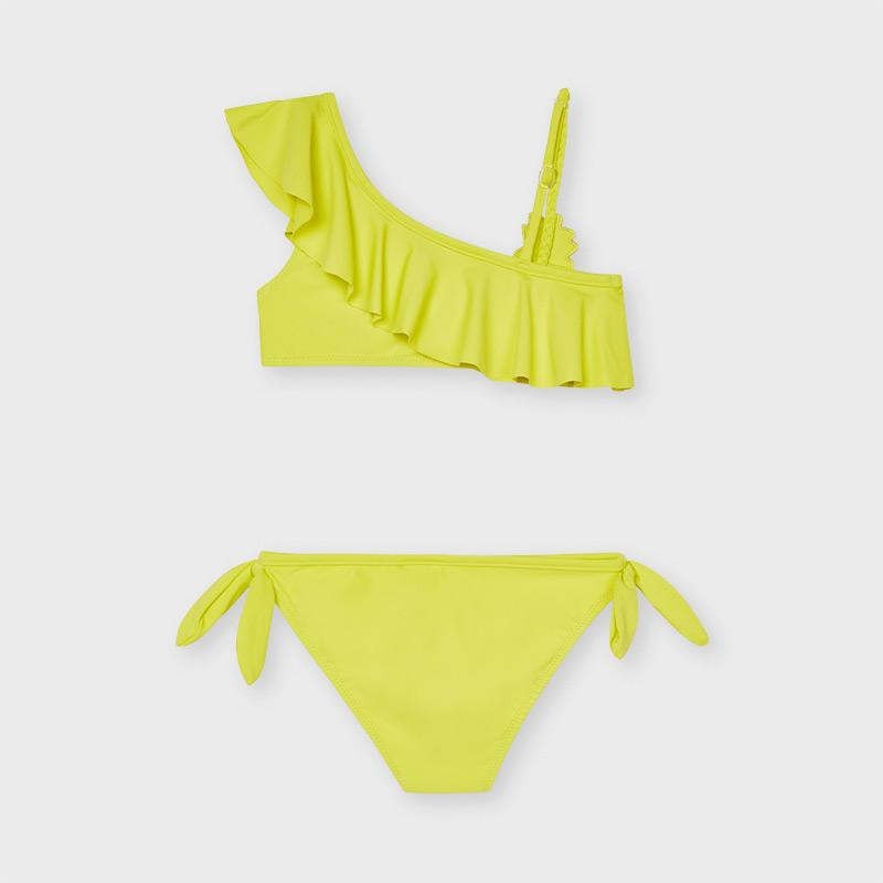 MAYORAL 6733 LEMON RUFFLED BIKINI - Cherubs