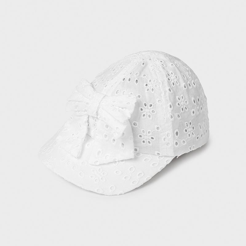 PRE-ORDER MAYORAL 10020 WHITE HAT - Cherubs