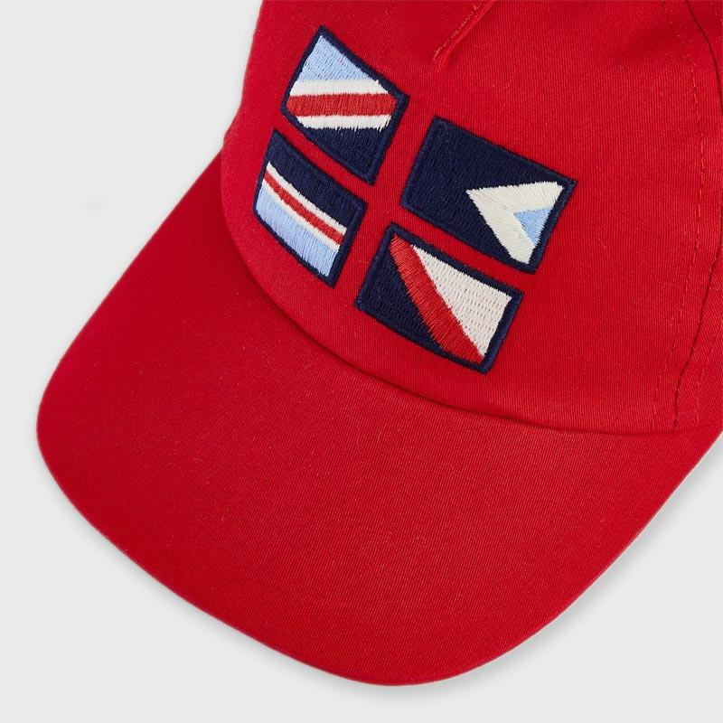 PRE-ORDER MAYORAL 10066 RED PEAK HAT - Cherubs