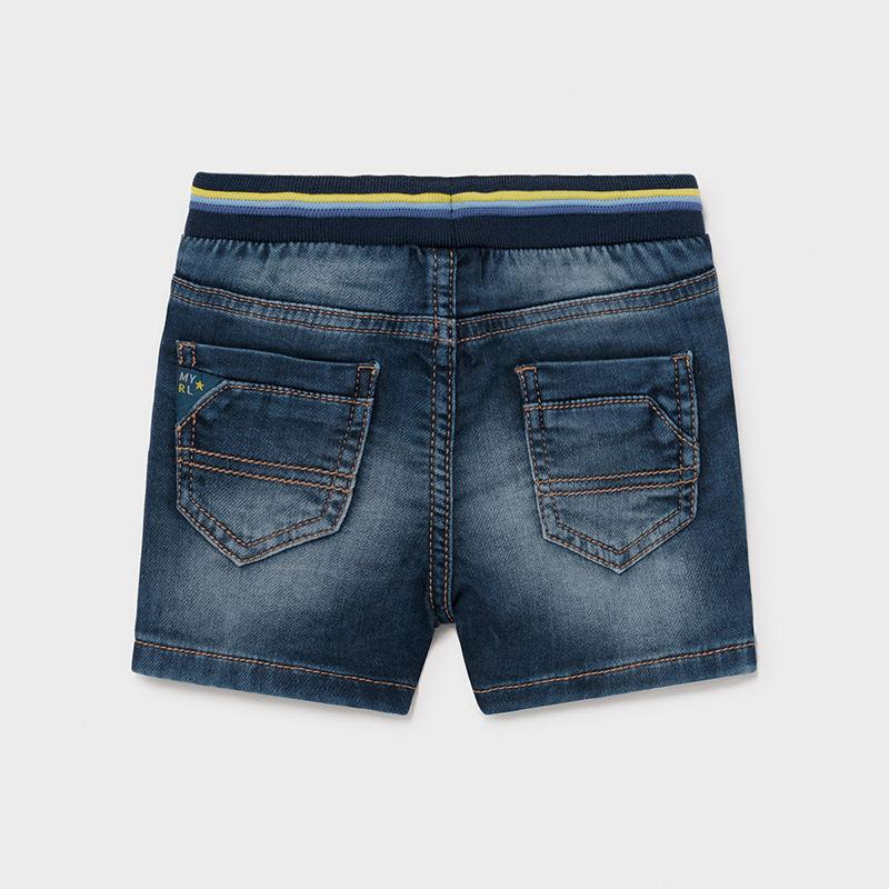 PRE-ORDER MAYORAL 1246 SOFT DENIM SHORTS - Cherubs