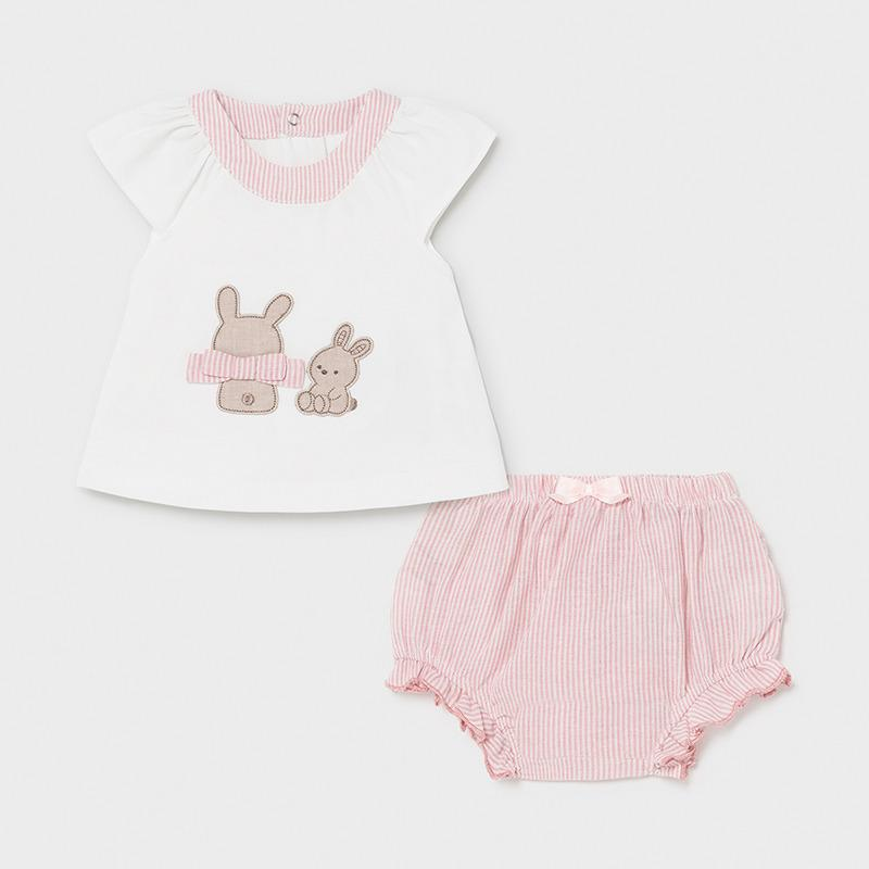 PRE-ORDER MAYORAL 1297 CANDY SHORTS SET - Cherubs