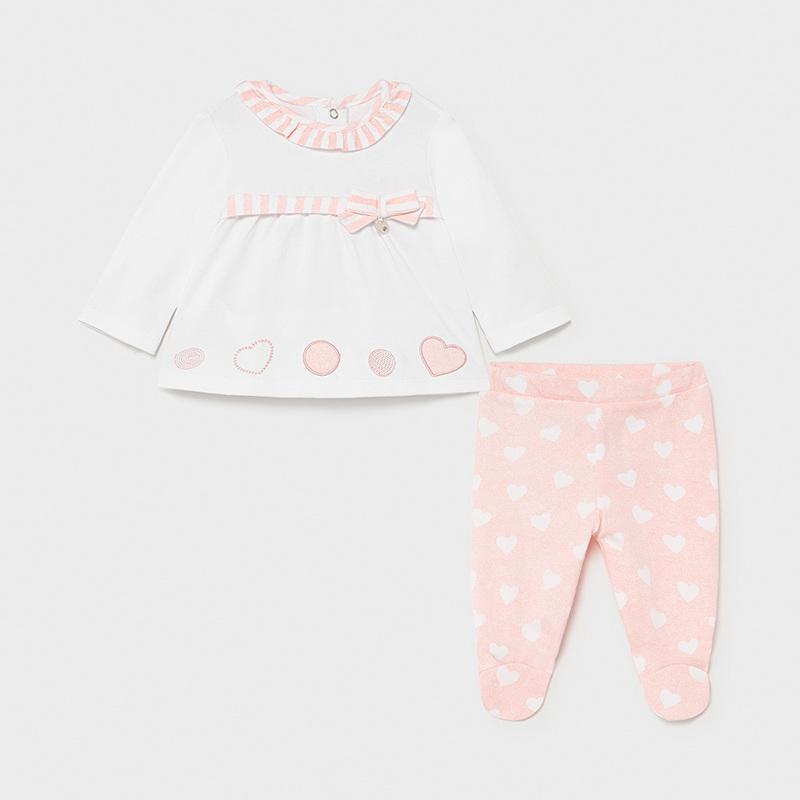 PRE-ORDER MAYORAL 1559 CANDY TWO PIECE PYJAMAS - Cherubs
