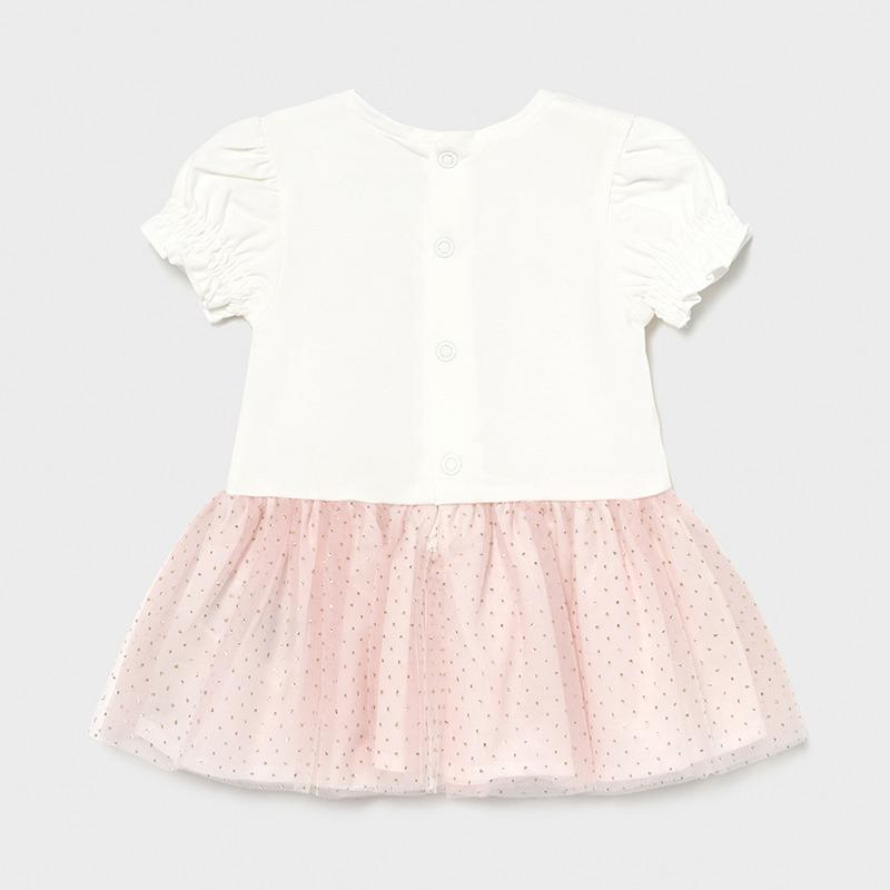 PRE-ORDER MAYORAL 1958 PINK DRESS - Cherubs