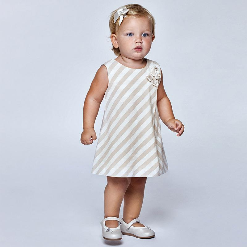 PRE-ORDER MAYORAL 1964 LINEN DRESS - Cherubs
