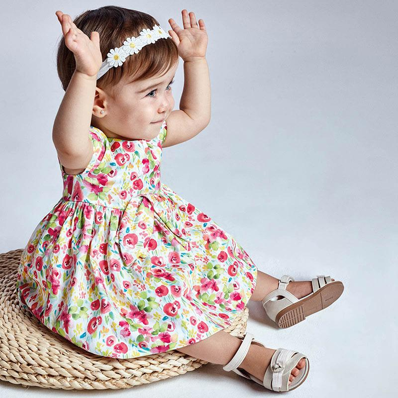 PRE-ORDER MAYORAL 1973 CAMELLIA FLOWER DRESS - Cherubs