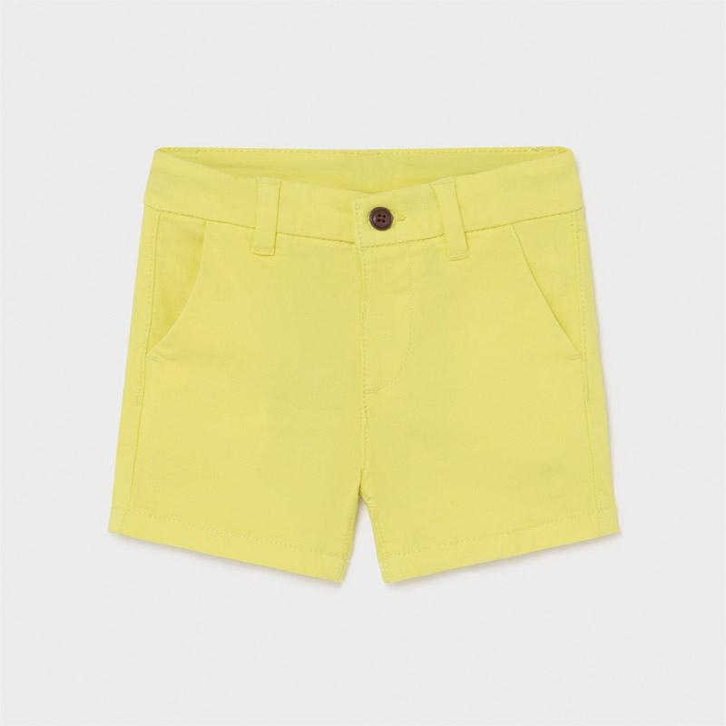 PRE-ORDER MAYORAL 207 LIME CHINO SHORTS - Cherubs