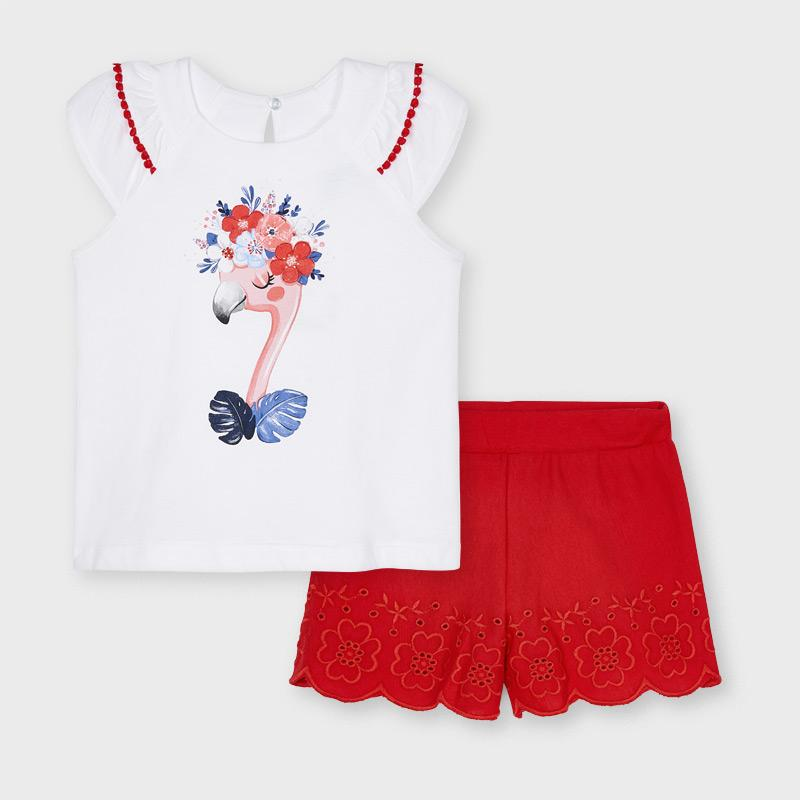 PRE-ORDER MAYORAL 3217 POPPY SHORT SET - Cherubs