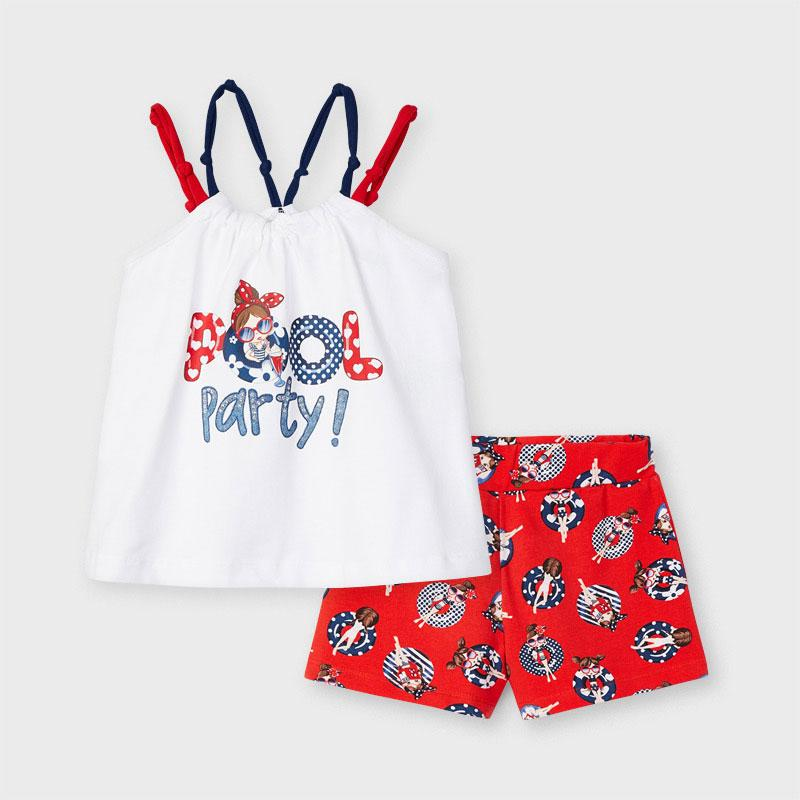 PRE-ORDER MAYORAL 3220 POPPY SHORT SET - Cherubs