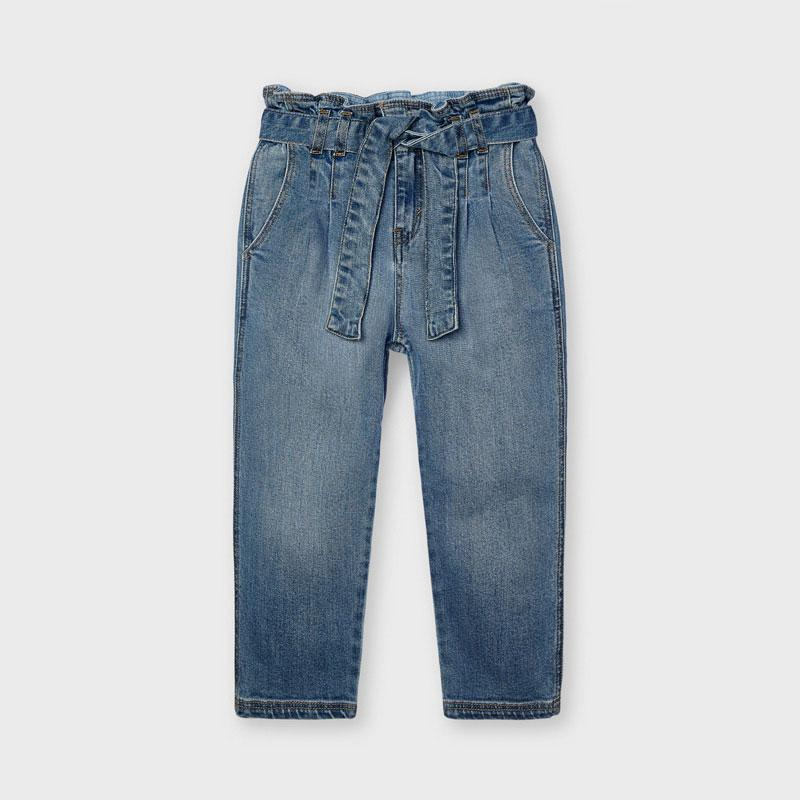 PRE-ORDER MAYORAL 3557 DENIM TROUSERS - Cherubs