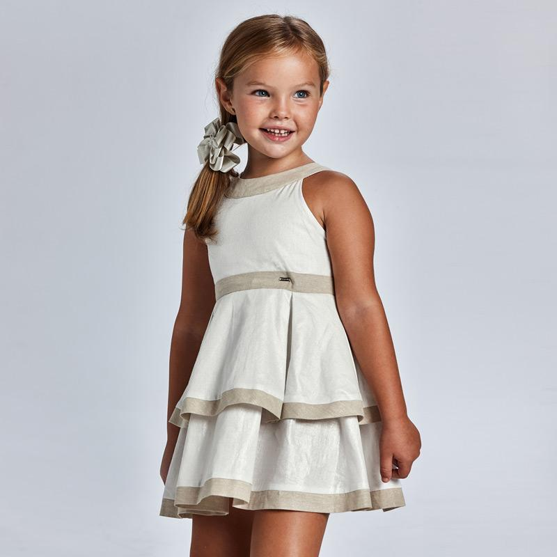 PRE-ORDER MAYORAL 3925 STONE DRESS - Cherubs