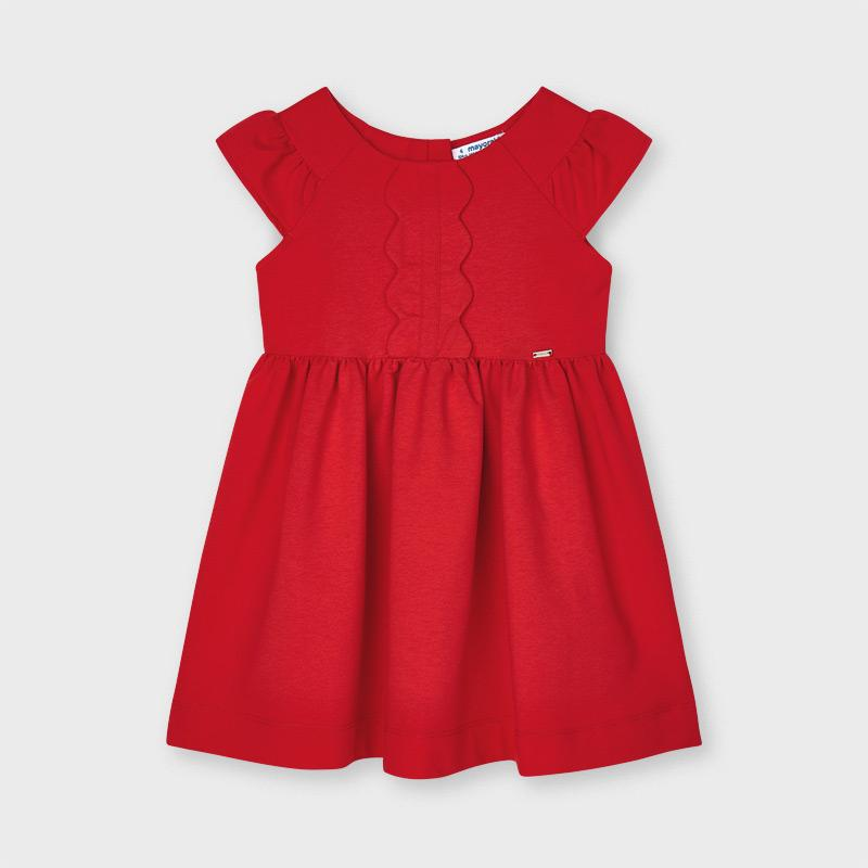 PRE-ORDER MAYORAL 3926 PERSIMMON DRESS - Cherubs