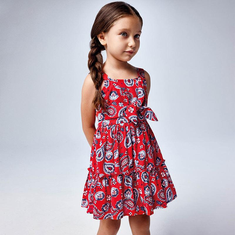 PRE-ORDER MAYORAL 3947 POPPY DRESS - Cherubs