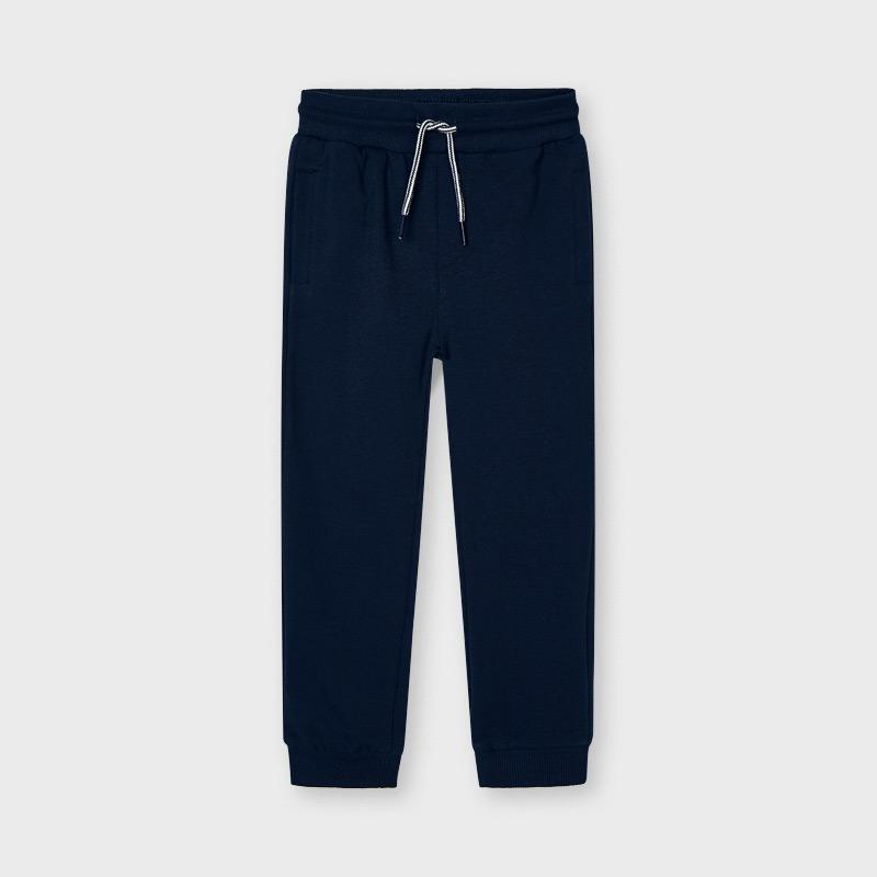 PRE-ORDER MAYORAL 742 NAVY TRACKSUIT BOTTOMS - Cherubs