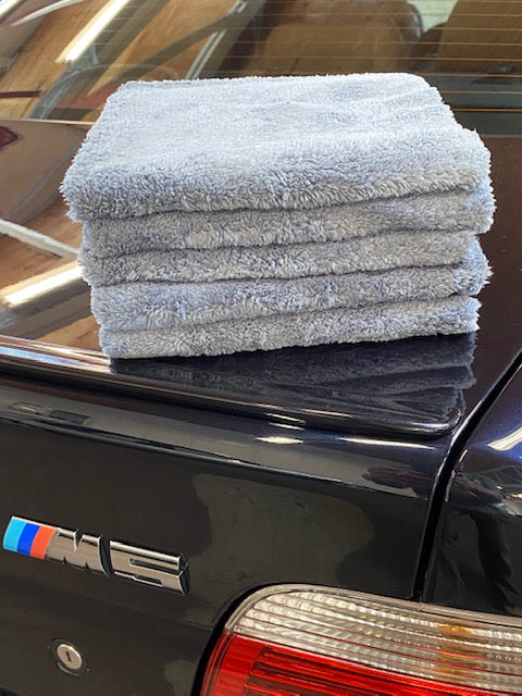Pro Detailers Choice Ultra Plush Korean Detailing Towels (5 Pack)