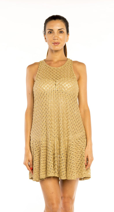 FLARED TANK DRESS - Jordan Taylor Beachwear